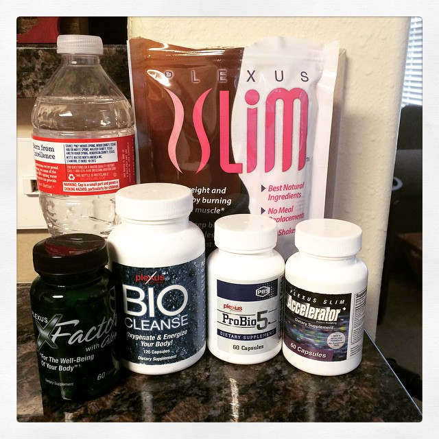 My current Plexus stash of goodies